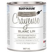 Peinture Crayeuse Ultra Matte, blanc lin