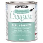 Peinture Crayeuse Ultra Matte bleu sérénité