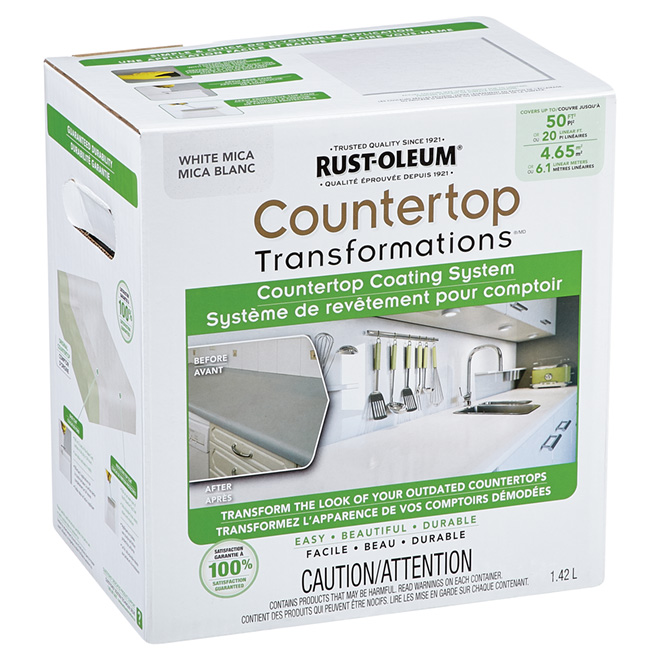 Countertop Coating System - White