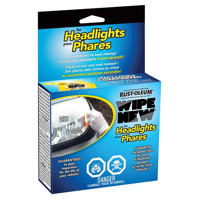 Trousse de restauration pour phares, clair