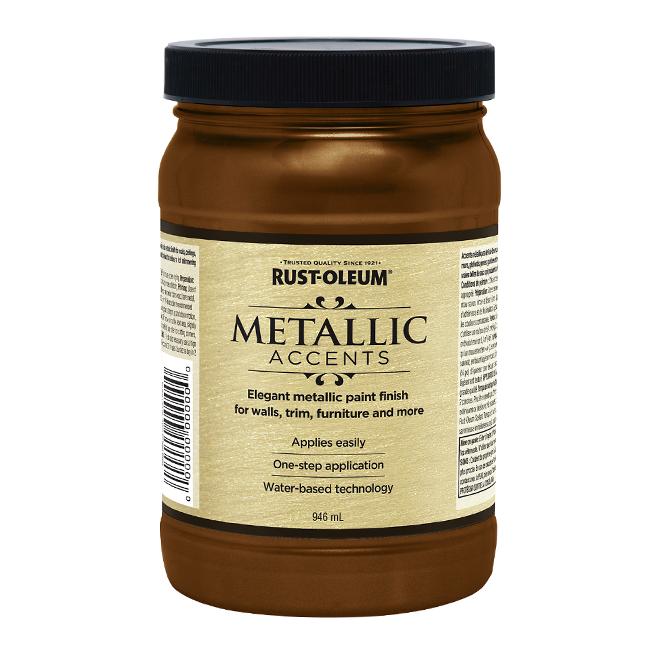 Water-Based Metallic Paint - 946 mL - Classic Bronze