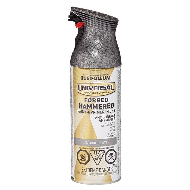 Hammered Spray Paint - 340 g - Antique Pewter