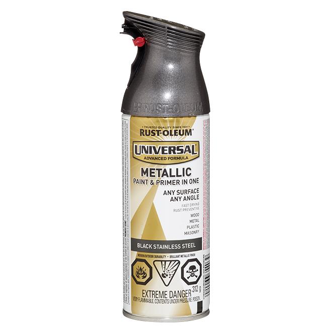 Metallic Spray Paint - 312 g - Black Steel