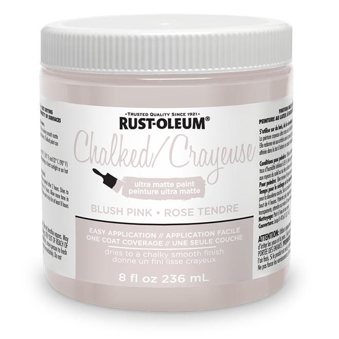 Rust-Oleum Ultra Matte Chalked Paint - 236 mL - Blush Pink