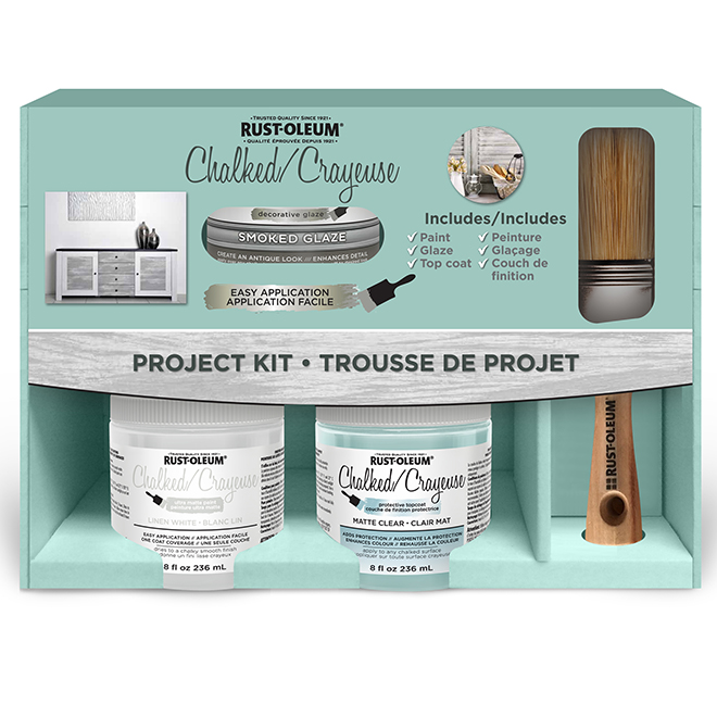 RUST-OLEUM Chalked Paint Project Kit - Linen White 319445 | RONA