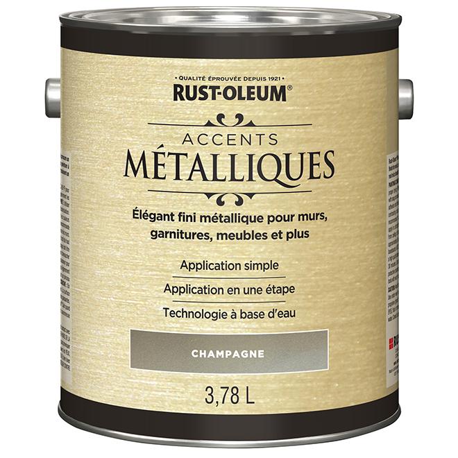 Peinture intérieure Accents métalliques, 946 mL, champagne