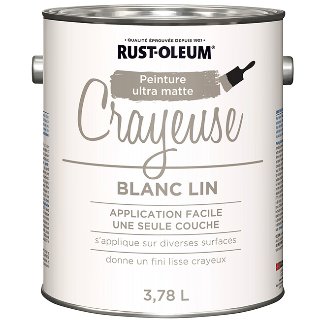 Peinture Mur Plafond Boiserie Envie Depolluante Blanc Lin Velours 5 L Leroy Merlin