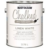 Chalked Paint - 3.78 L - Linen White