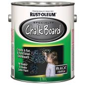 Chalkboard Brush-On Paint - 3.78 L - Black