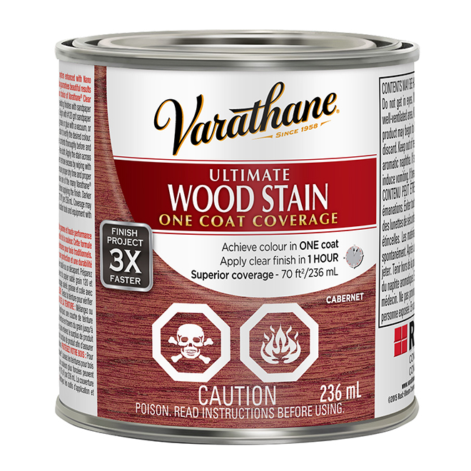 Ultimate Wood Stain - 236 mL - Cabernet