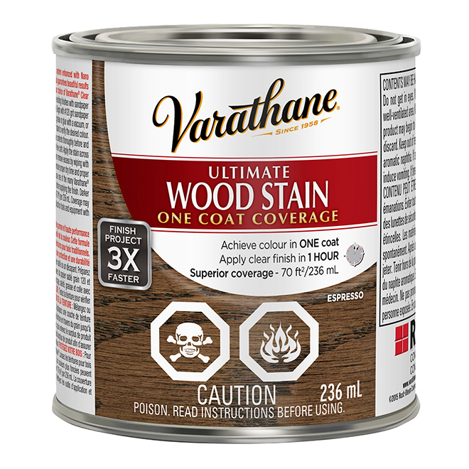 Ultimate Wood Stain - 236 mL - Espresso