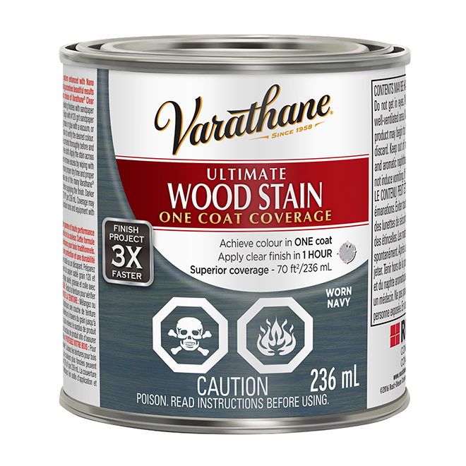 Ultimate Wood Stain - 236 mL - Worn Navy