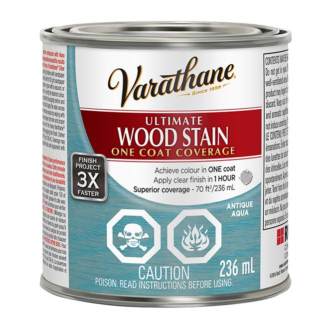 Ultimate Wood Stain - 236 mL - Antique Aqua