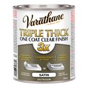 Exterior Wood Varnish - Triple Thick - Satin - 946 mL