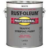 Traffic Stripping Paint - Latex - 3.78 L - White