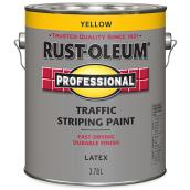 Traffic Stripping Paint - Latex - 3.78 L - Yellow