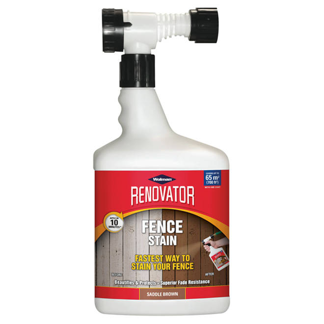 Renovator Deck Stain - 1.65 L - 700 sq.ft. - Saddle Brown
