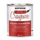 Rust-Oleum(R) Chalked Paint - 887 ml - Farmhouse Red