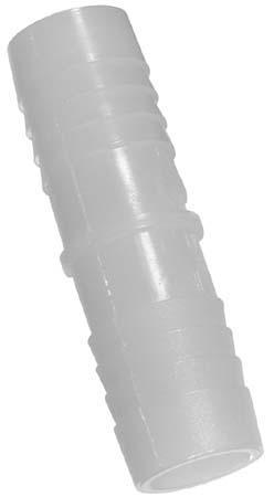 Straight Nylon Coupling - 1/2'' x 1/2''