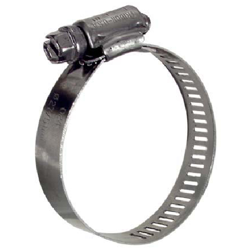 "Hose Clamp - 3/4""-1 3/4"" - Stainless Steel"