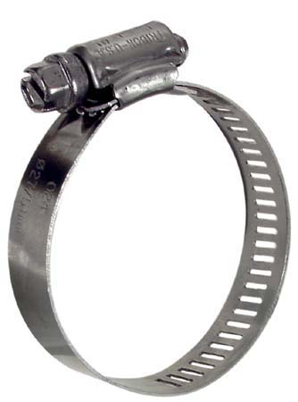 """Hose Clamp - 1 13/16'' x  2 3/4"""" - Stainless Steel"""