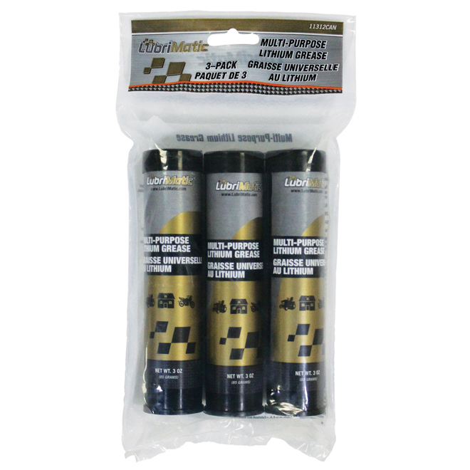 Multipurpose Lithium Grease - 3-Pack