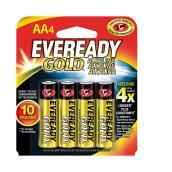 """AA"" Alkaline Batteries - 4 Pack"