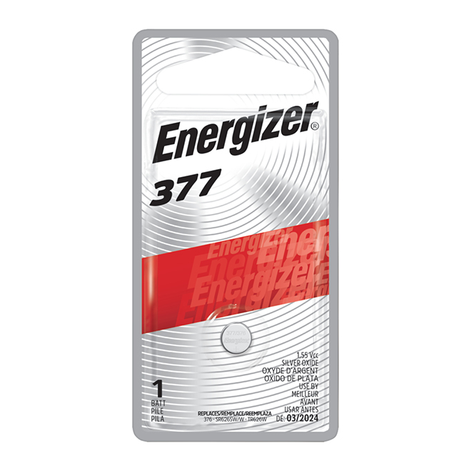 """377"" Silver Oxide Coin Battery"