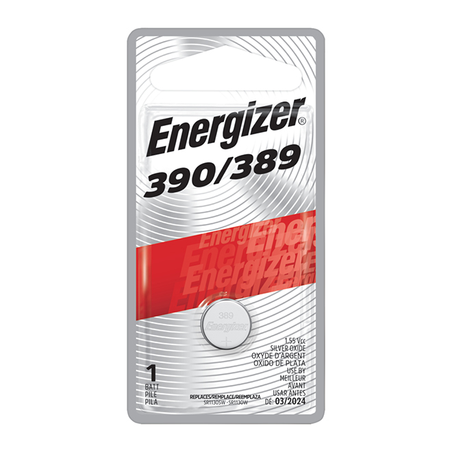 """389"" Silver Oxide Coin Battery"