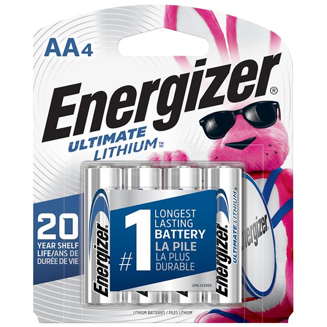 Piles haute performance « Energizer e2 »