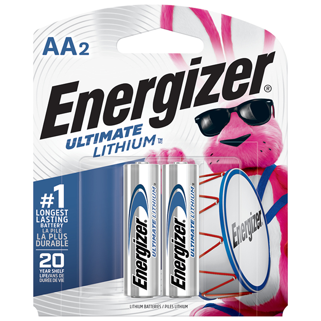 Lithium Batteries - AA - Ultimate - Pack of 2