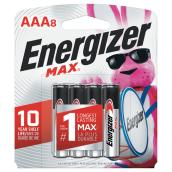 """AAA"" Max(R) Alkaline Batteries - 8 Pack"