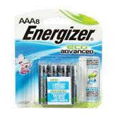 Paquet de 8 piles alcalines «Eco Advanced» AAA