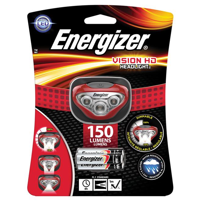Vision HD LED Energizer Headlight - 4 Modes - 150 lumens