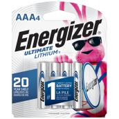 AAA Ultimate Lithium(TM) Batteries - Pack of 4