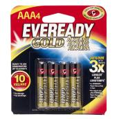 Alkaline AAA Batteries - Pack of 4