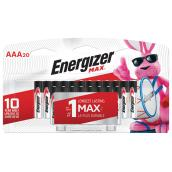 Alkaline Batteries - AAA - 20/Pack