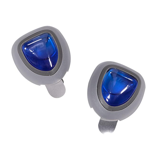 Rafraîchisseurs d'air pour voiture, plastique, bleu, 2/pqt