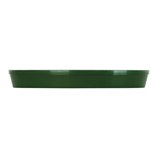 Kord Flower Pot Saucer - Plastic - 6-in - Green