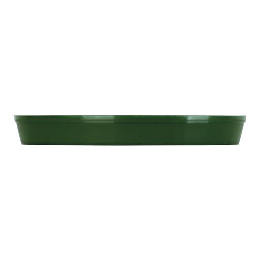 Kord Flower Pot Saucer - Plastic - 4-in - Green