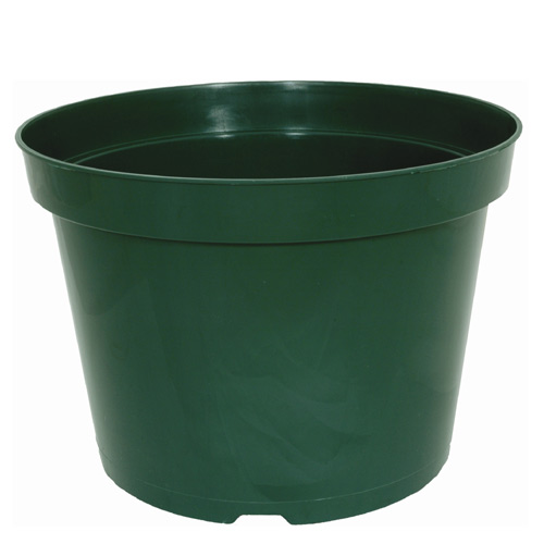 Kord Flower Pot - Plastic - 12-in - Green