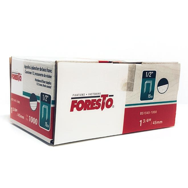 """Flooring Staples - Galvanized - 1 3/4"""" - Gauge 15 - 1000/box"""