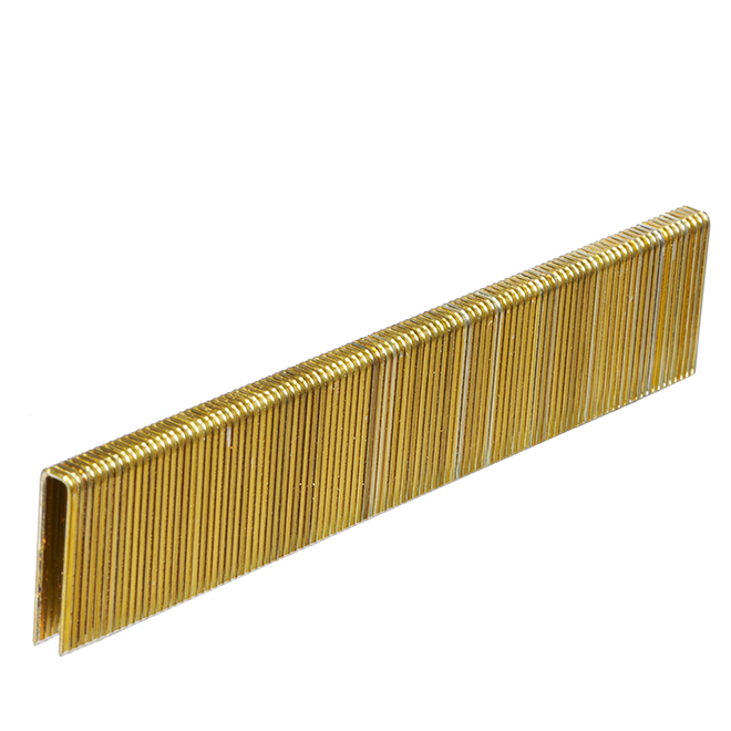 "Fine Staples - Galvanized - 1"" - Gauge 18 - 5000/box"