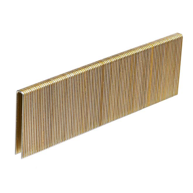 "Fine Staples - Galvanized - 1 1/2"" - Gauge 18 - 5000/box"