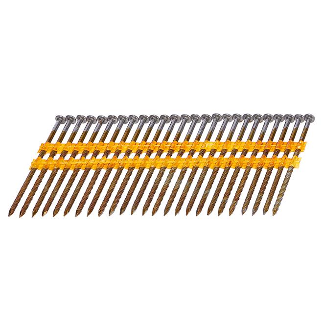 Framing Nails - Screw Shank - 3 1/4'' - 1000/Box