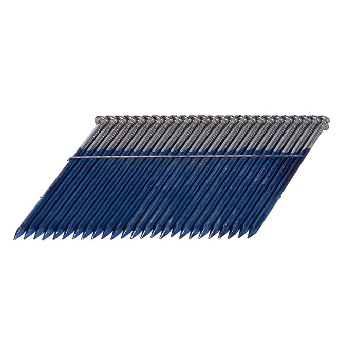 """Wired Framing Nails 28° - Smooth Shank - 2 3/8"""" - 1000/Box"""