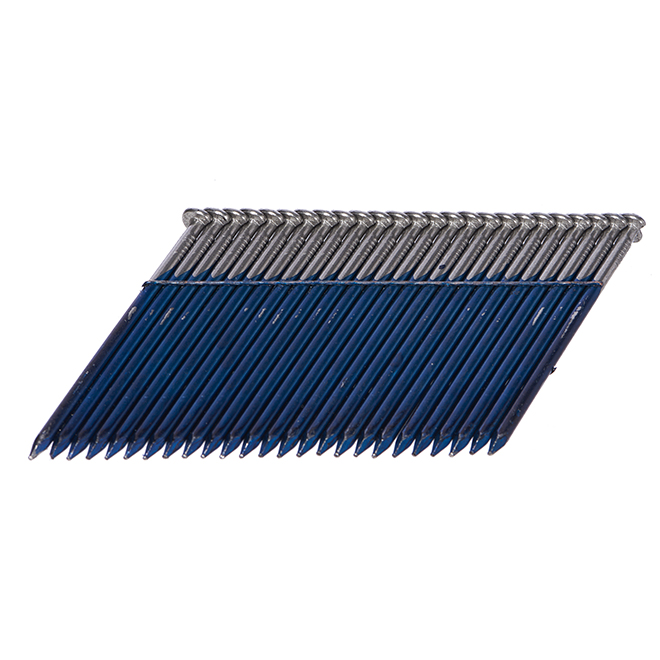 "Wired Framing Nails 28° - Smooth Shank - 2 3/8"" - 3000/Box"