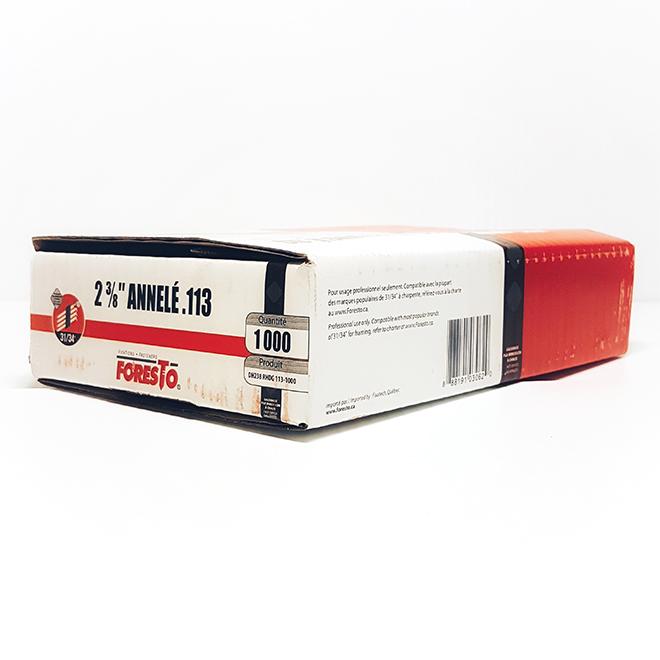 Framing Nails - Ring Shank - 2 3/8'' - 1000/Box