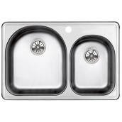 One And Half Sink Essential U 26 5 X 17 Quot Stainless