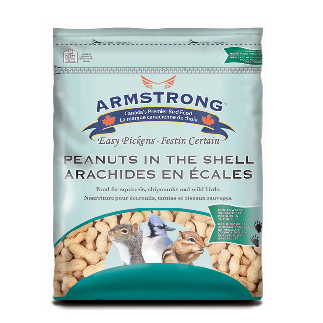 Peanuts in shell for birds - 1.3kg